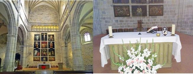 Iglesia y altar
